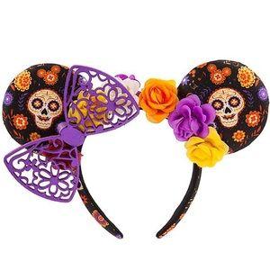 New Disney Parks Dia de los Muertos Minnie Ears